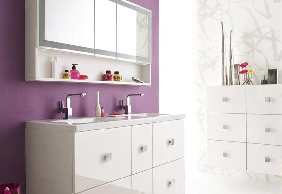 meuble cadence allia salle de bains ile de france chadapaux. Black Bedroom Furniture Sets. Home Design Ideas
