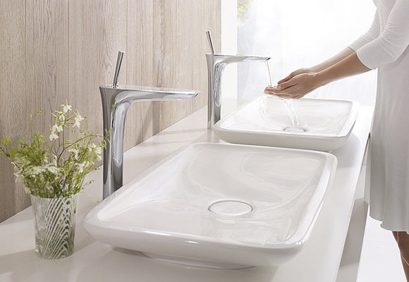 Robinet lavabo hansgrohe puravida ile de france chadapaux - Robinetterie hansgrohe salle de bain ...